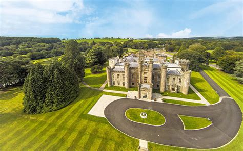 spectacular castle wedding venue  south wales hensol