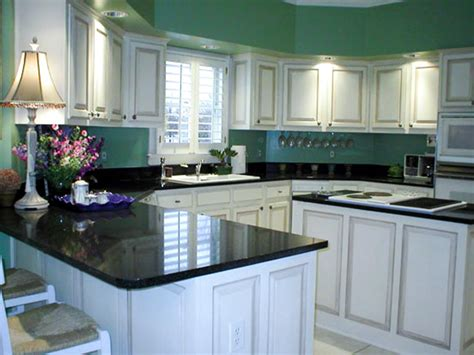 white kitchen dark counters kitchen paint color schemes and techniques hgtv pictures 304 | jill hertz kitchen green.jpg.rend.hgtvcom.1280.960