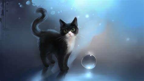 Cat Art Desktop Wallpaper