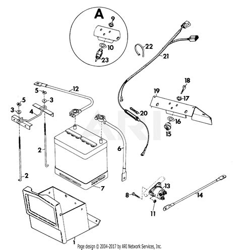 gravely 37833 2 wheel tractor 5665 12hp 4 sp electric start parts diagram for electrical system