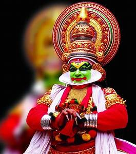#Kathakali, literally meaning `story-play', is a dance ...