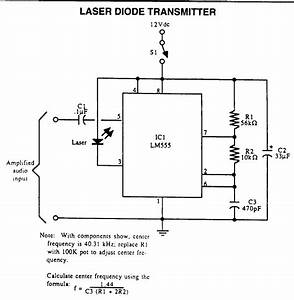 Laser Related Power Supplies And Data Transmission