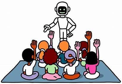 Teacher Robot Robots Children Secret Why Educational
