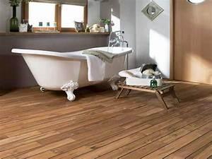 parquet salle de bain lapeyre With lapeyre parquet