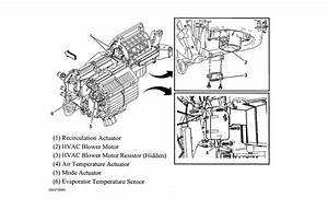 Blower Motor Resistor Location  Where Is The Blower Motor