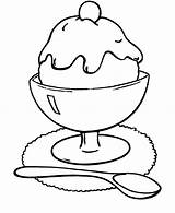 Ice Cream Coloring Pages Sundae Colouring Printable Drawing Sheets Kleurplaat Draw Icecream Sheet Chocolate Toddlers Coloringsky Sundaes Adult Kolorowanki Sweet sketch template