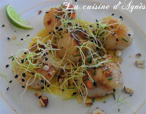 jacques sauce citron vert curry gingembre la cuisine d agn 232 sla cuisine d agn 232 s