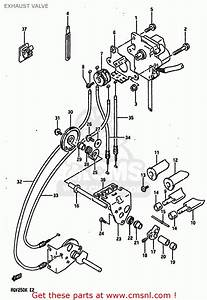 Suzuki Rgv250 1989  K  Exhaust Valve