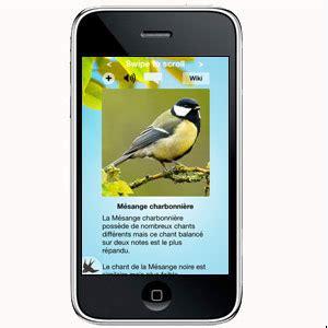 applications pour smartphones pour saisir des observations
