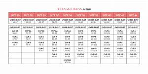 What U0026 39 S An Accurate Bra Size Chart