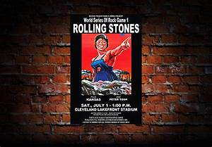 Rolling Stones 1978 Concert Poster – Raw Sugar Art Studio