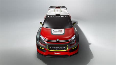 Wallpaper Citroen C3 Wrc, Paris Auto Show 2016, Red, Rally