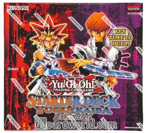Yugi Starter Deck Reloaded Walmart by Konami Yu Gi Oh Yugi Kaiba Reloaded Starter Box Da