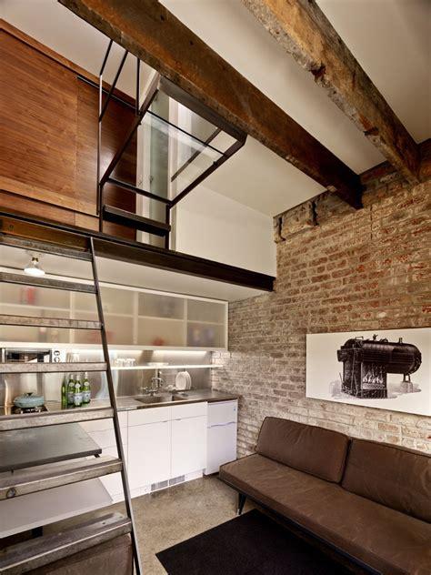 square foot micro apartment   tiny brick house