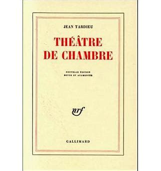 théâtre de chambre théâtre tome 1 jean tardieu achat