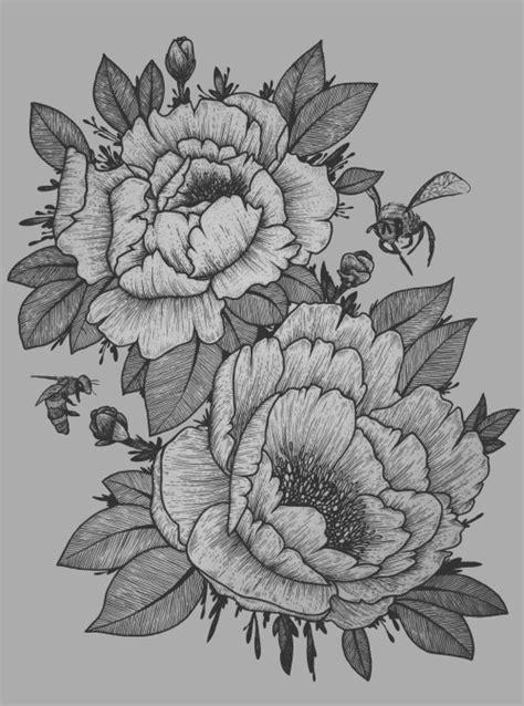 peony tattoos tumblr