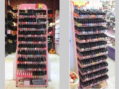 nail display rack 10 diy racks for nail display inhabit