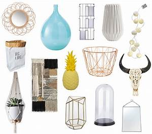 la tendance deco scandinave vintage blanc bois rotin With element de decoration salon