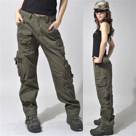celana army 7 8 39 s army cargo outdoor hiking mid waist