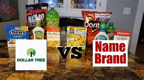 Taste Test #3 Dollar Tree Vs Name Brand Youtube