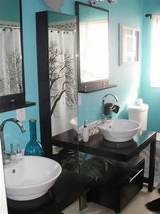 30, Amazing, Turquoise, Bathroom, Designs