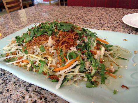 recettes de cuisine vietnamienne recette gỏi gà goi ga salade de poulet à la menthe recettes asiatiques restaurants