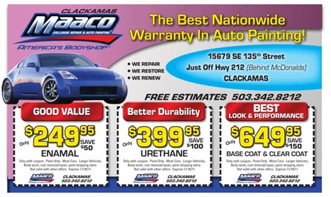 maaco paint specials maaco coupons