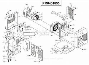 Powermate Formerly Coleman Pm0401855 Parts Diagram For