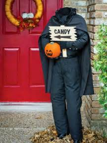 Headless Horseman Halloween Decoration