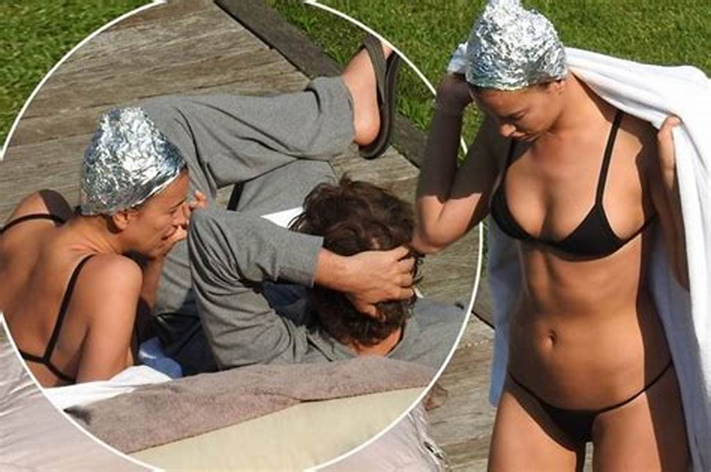 #Irina #Shayk #Sizzles #In #Tiny #Bikini #And #Bizarre #Tin