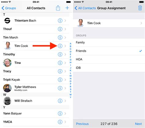 contact iphone groups create contacts screen step address added take