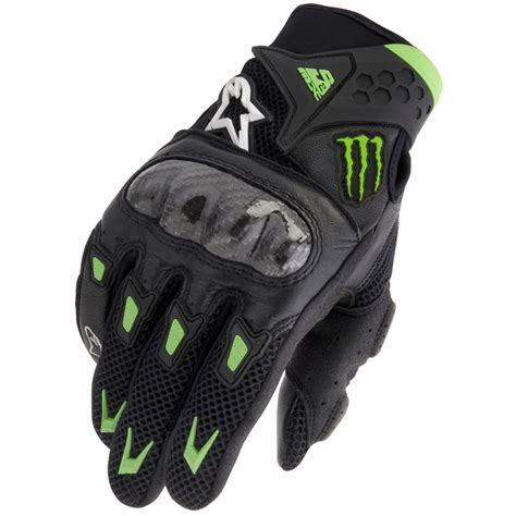 alpinestars motocross gloves alpinestars smx 2 m10 air carbon monster energy short