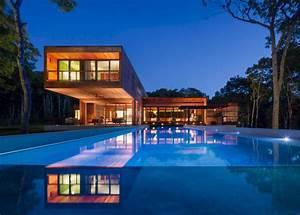 Maison Contemporaine Construite Enti U00e8rement En Bois