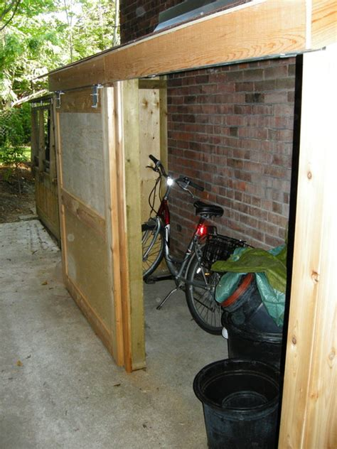 side storage shed small storage shed with sliding door contemporary