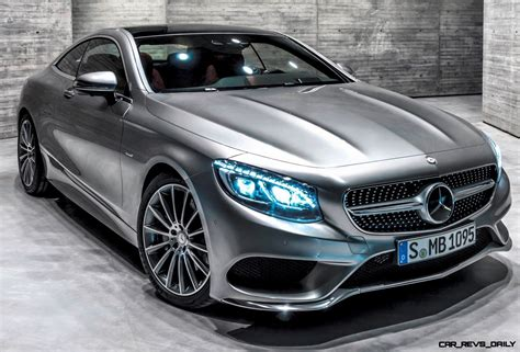 Wow! 2015 Mercedes-benz S550 4matic Coupe -- High-speed