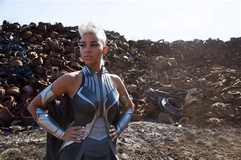 """10 x 15 inches heavy card stock metallic finish paper signed by jeff stokely line art by jeff stokely colors by mat lopes ships rolled. #AlexandraShipp: Storm Actress Wants To Appear In X-Men's """"The New Mutants"""" 