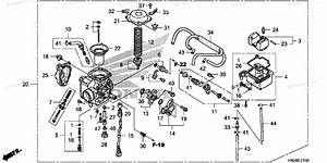 35 Honda Foreman 500 Carburetor Diagram