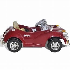 Retro Bebe Voiture : voiture electrique pour enfants style r tro rouge ou beige ~ Teatrodelosmanantiales.com Idées de Décoration