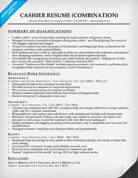 Cashier Resume Sample  Resume Companion. Help Creating A Resume For Free. Sample Resume Financial Advisor. American Format Resume. How Many Pages Should Resume Be. Tour Manager Resume. Sample Resume To Apply For Bank Jobs. How To List College Courses On Resume. Basic Resume Format Download