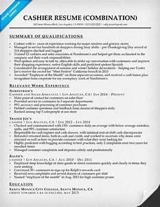 cashier resume sample resume companion With cashier resume template