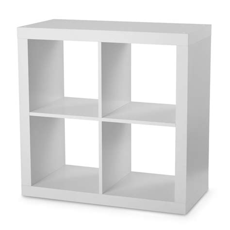 Maybe you would like to learn more about one of these? Better Homes & Gardens Square 4-Cube Organizer, White ...