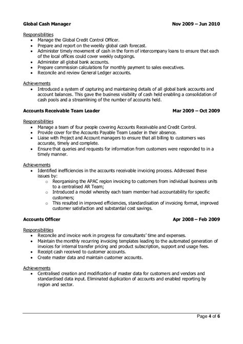 Credit Review Officer Resume by Knott Resume