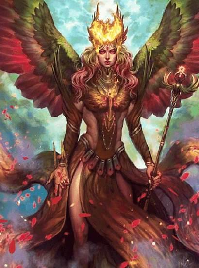 Fantasy Dark Female Warrior Angels Angel Viking