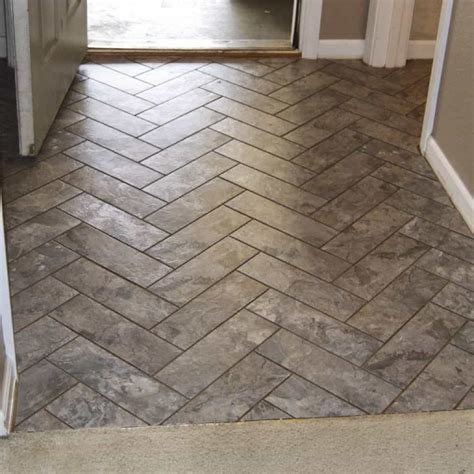 chevron peel  stick floor tiles affordable peel  stick floor tiles wearefound home design