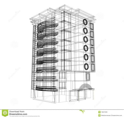 house build plans 3d building plan royalty free stock images image 18537309