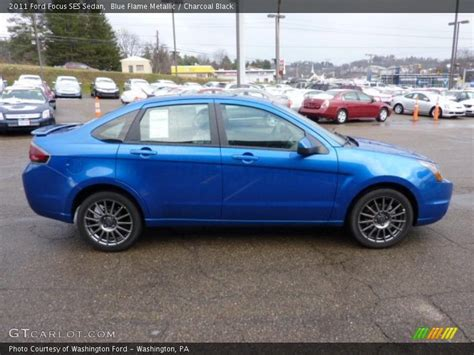 2011 Ford Focus Ses by 2011 Ford Focus Ses Sedan In Blue Metallic Photo No