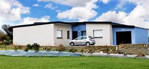Maison Plain Pied En L : constructeur de maison plain pied sur mesure finistere ~ Melissatoandfro.com Idées de Décoration