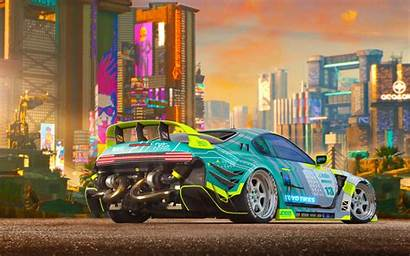 4k Cyberpunk Wallpapers Cars Artwork Backgrounds Artstation