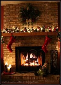 mantel christmas decorations Casa de Luna Creations: Christmas Mantel