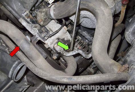 volvo  power steering reservoir replacement